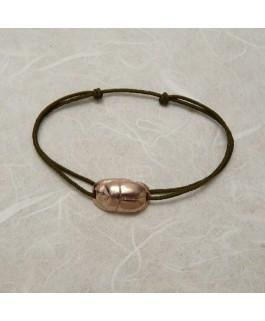 Bracelet Grigri Scarabée